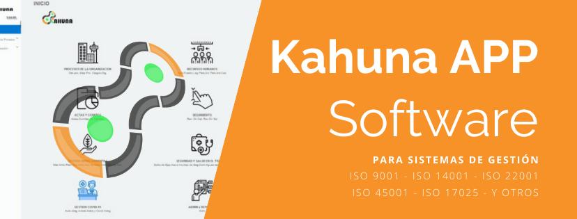 Kahuna APP - Software para Sistemas de Gestión ISO y BPM